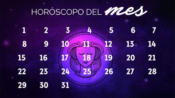 Horóscopo Virgo mensual- virgohoroscopo.com