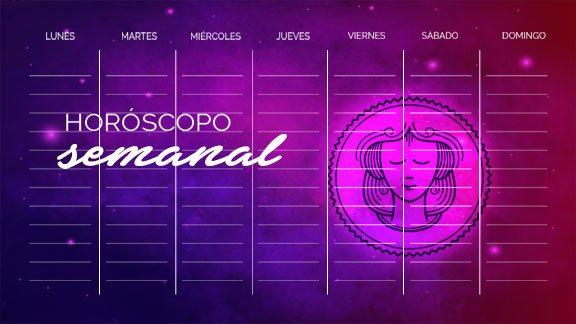 Horóscopo Virgo semanal- virgohoroscopo.com